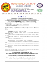 Vabilo 2018